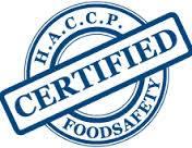 HACCP sertifikatas