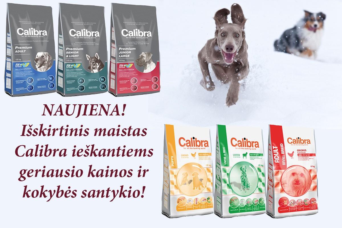 Calibra maistas