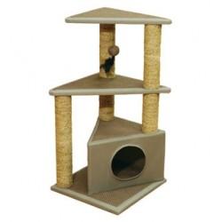 Rosewood pet draskyklė stovas katėms su katžole