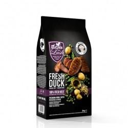 Bob and Lush 60% Fresh Duck Kibble Puppy and Junior šunų maistas