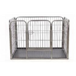 Metalinė tvorelė su padėklu