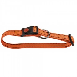 Nailoninis antkaklis šunims su atšvaitais (oranžinis)