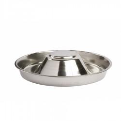 Nerūdijančio plieno dubenėlis mažiems šuniukams / kačiukams