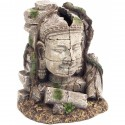 Rosewood pet akvariumo dekoracija Ancient Stone Head Ruin