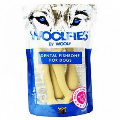 WOOLF Woolfies Dental Fishbone for dogs