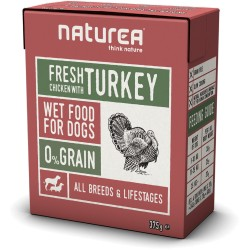 NATUREA Fresh Chicken with Turkey konservai šunims
