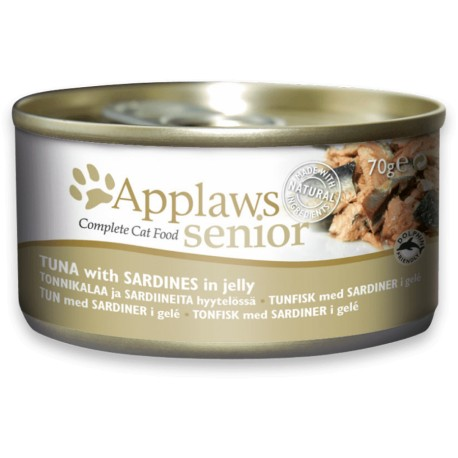 APPLAWS Cat Senior Tuna with Sardine in Jelly