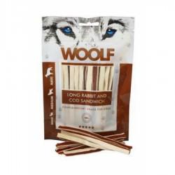WOOLF Long Rabbit and Cod Sandwich skanėstai šunims