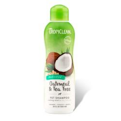 Tropiclean Oatmeal&Tea Tree Gydomasis Šampūnas