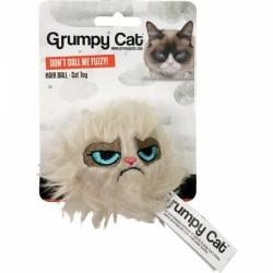 Grumpy Cat žaislas katėms pūkuotas kamuoliukas