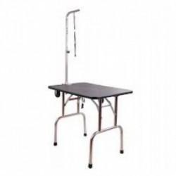Grumingo / kirpimo stalas su ratukais + ranka