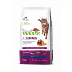 Trainer Natural Cat Sterilised With Dry-Cured Ham