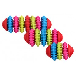 Pawise Rainbow World Gear žaislas kramtymui Įv. Dydžių