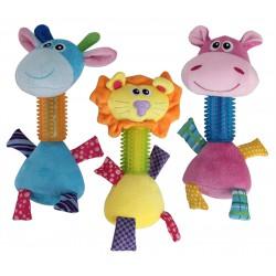 Pawise Puppy Long Neck Žaislas Šunims Įvairių Spalvų