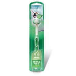 Dantų šepetėlis Tropiclean Fresh Breath TripleFlex Toothbrush