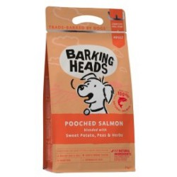 BARKING HEADS POOCHED SALMON GRAIN FREE