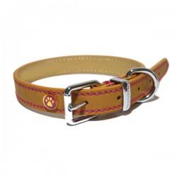 Odinis antkaklis šunims Rosewood Luxury Tan Leather