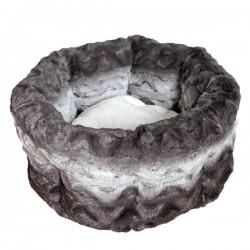 Guolis gyvūnui Snuggle Plush Round Bed