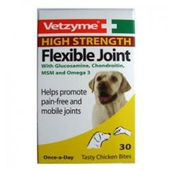 Vetzyme High Strenght Flexible Joint papildas šunims
