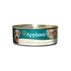 Applaws Dog Chicken with Tuna in jelly konservai šunims