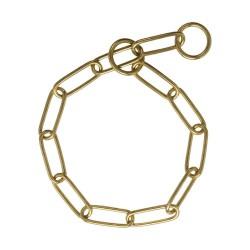 Grandinėlė šunims Correction chain Solid brass