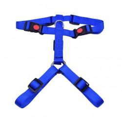 Petnešos gyvūnui Harness 3x adjustable nylon (mėlynos)