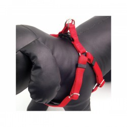 Petnešos šunims Soft Protection Harnesses Red