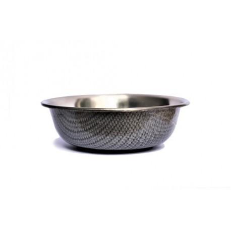 Neslystantis metalinis dubenėlis Anti Skid Bowl with Print (pilkas)