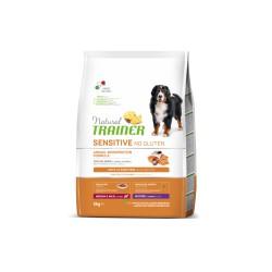 Natural Trainer Sensitive Maturity M/M salmon sausas šunų