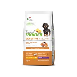 Natural Trainer Sensitive Maturity Mini Salmon Maistas Šunims