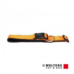 Wolters antkaklis (Oranžinės spalvos su atšvaitu) Įv. Dydžių
