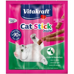Vitakraft Cat Stick Su Antiena Ir Triušiena
