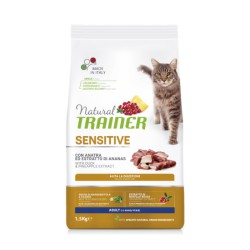 Trainer Natural Cat Sensitive Duck maistas katėms