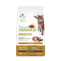 Trainer Natural Cat Sensitive Duck maistas katėms