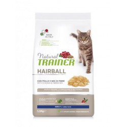 Trainer Natural Cat Hairball Chicken maistas katėms