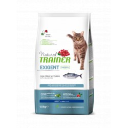 Trainer Natural Cat Exigent Blue Fish maistas katėms