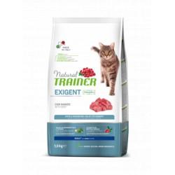 Trainer Natural Cat Exigent Beef maistas katėms