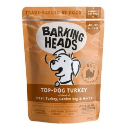 Barking Heads Top Dog Turkey konservai šunims