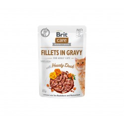 Brit Care Cat konservai katėms Fillets in Gravy Turkey & Salmon