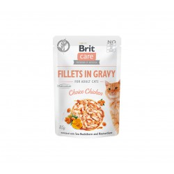 Brit Care Cat konservai katėms Fillets in Gravy Choice chicken