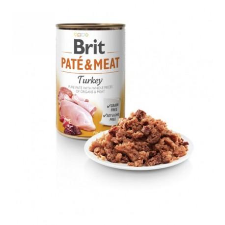 Brit Care Turkey Pate & Meat konservai šunims