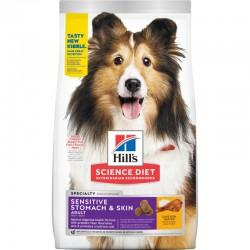 Hill's SP Canine Adult Sensitive Stomach & Skin sausas maistas šunims