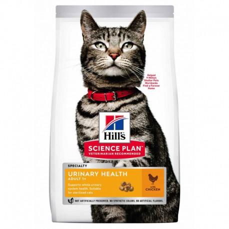 Hill's SP Feline Adult Urinary Health Sterilised Chicken sausas maistas katėms