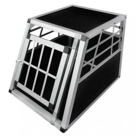 Aliumininis transportavimo narvas šunims