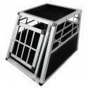 Aliumininis transportavimo narvas šunims, S dydis