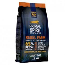 PRIMAL SPIRIT Rebel Farm Adult Dog Maistas Šunims