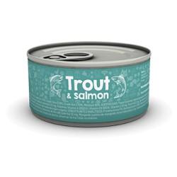 Naturea Trout & Salmon konservai katėms