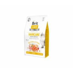 Brit Care Cat GF Haircare Healthy & Shiny Coat sausas maistas katėms