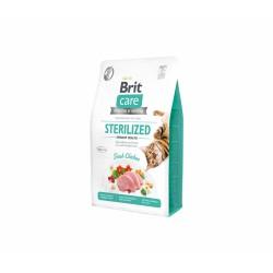 Brit Care Cat GF Sterilized Urinary Health sausas maistas katėms
