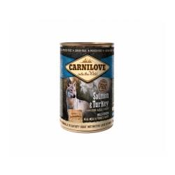 Carni Love Salmon & Turkey konservai šunims
